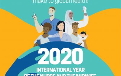 2020 is het jaar van de verpleegkundige en verloskundige